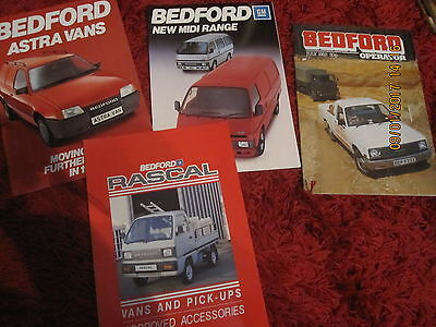 Bedford Brochures 1982 Great Items