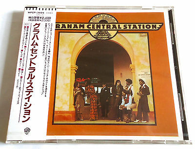 GRAHAM CENTRAL STATION s/t JAPAN 1st PRESS CD w/OBI 1990 WPCP-3684 NEW SEALED