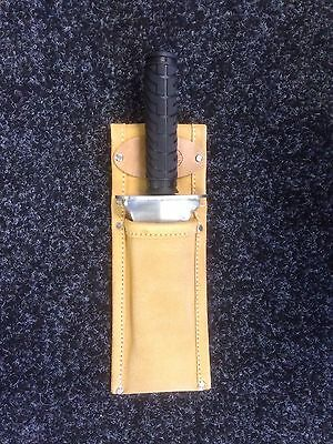 Evolution Extreme Trowel Leather Holster ONLY for  Metal detecting