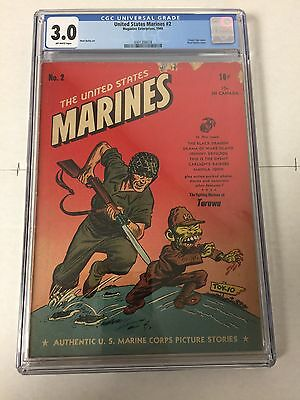 United States Marines 3 Cgc 3.0 Looks Way Better Tojo Cover