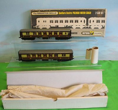 Wrenn The Brighton Belle 2 Car Set W3006/7 Pullman Brown/cream  Southern Electri