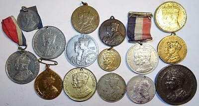 GEORGE VI CORONATION MEDALLIONS 1937 including LONDON, SOUTH AFRICA, BIRKENHEAD