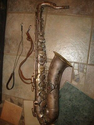 1914 Harwood Silver Professional 73522 Low Pitch SAXOPHONE, Jenkins Music Co