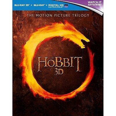 The Hobbit Trilogy 3D Blu-ray - Brand new!