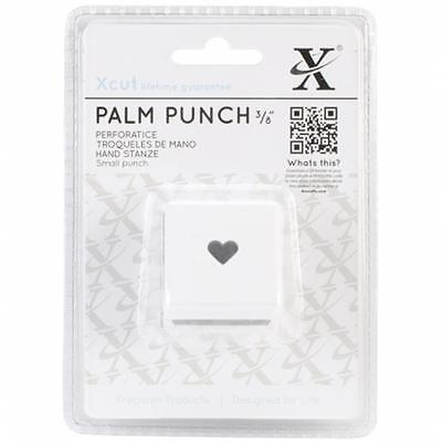 docrafts XC261603 Xcut Small Palm Punch-Traditional Heart, .375''