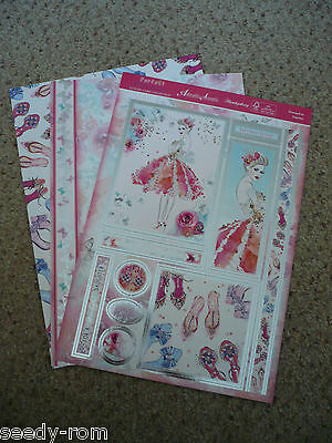 HUNKYDORY PERFECT PRINCESSES CARD KIT. Dressed to Impress