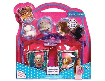 Puppy In My Pocket Cute Puppy Carrier Pack (Assorted Styles, One Supplied)- New