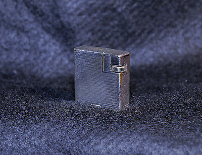 Rare Dunhill silver cigarette lighter know as Savory or Handy lighter - 1936