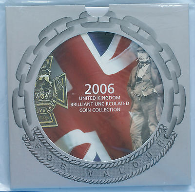 Royal Mint 2006 UK Brilliant Uncirculated Coin Collection
