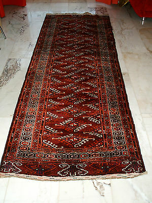 Old Yomut Jamut Yomuth Jamout Turkman Runner Jamut Läufer Tapis Ancien Russie