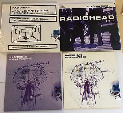 Radiohead - 16 CD Single Collection - Just Itch Paranoid Android No Surprises