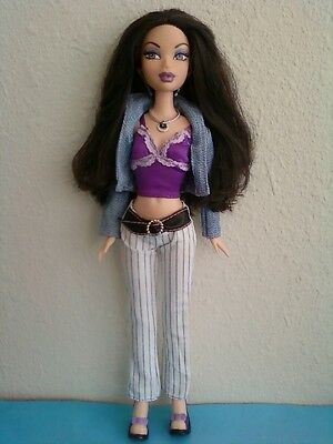 My Scene Shopping Spree Nolee Barbie Doll Original Clothes Shoes & Extra Outfit