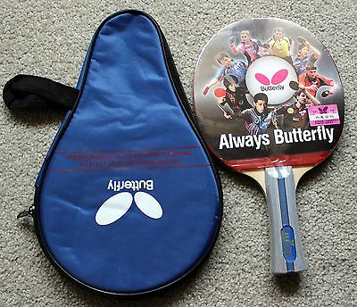 Butterfly Table Tennis Paddle / Bat with Case:  TBC-402, TBC402, New, UK