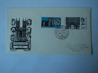 1st day cover: Westminster Abbey 1066-1966.