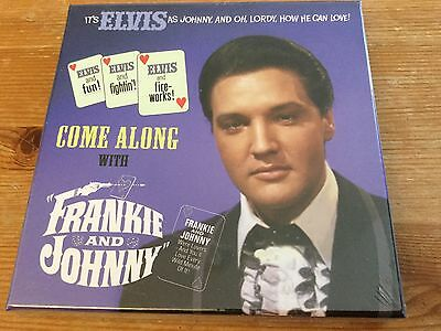 Elvis Presley 3 cd - Come along with frankie and johnny box set