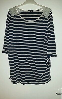 Newlook maternity top size 18