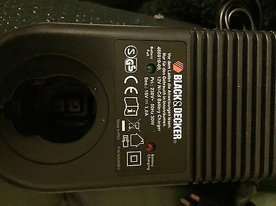 black and decker 12v battery charger