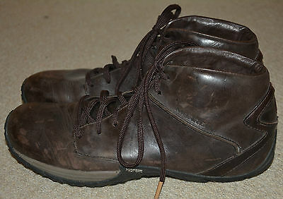 Merrell mens,brown,leather,lace up shoes/boots/trainers,size 9.5/EU 44
