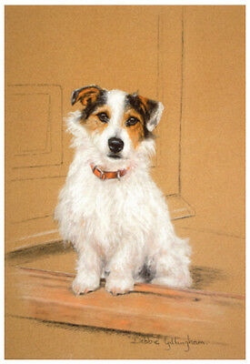 Jack Russell Terrier Rough Coated Wire Haired Dog Fine Art Limited Edition Print