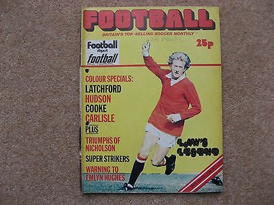 FOOTBALL MONTHLY MAGAZINE VOL 1 No 4 Oct' 1974