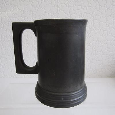 Antique James Dixon Half Pint Glass Bottomed Mug