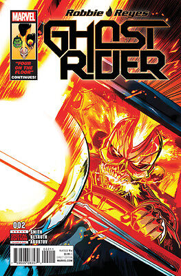 Ghost Rider #2 (2017) 1St Print (Marvel Comics) Boarded. Free Uk P+P! New