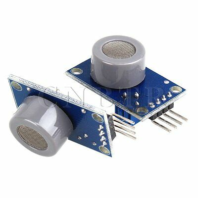 CO Gas Sensor Module Set of 2 Silver+Blue