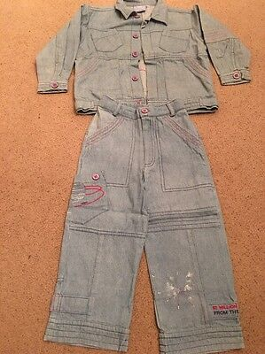 Dani Boys Outfit Denim 4 Years Shirt/Jacket & Trousers