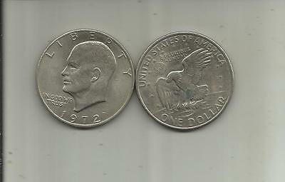 one dollar etats-unis 1972
