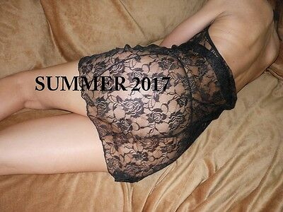 SEXY BABYDOLL IN PIZZO  +  2 PERIZOMA G-string INTIMO DONNA NERO 106