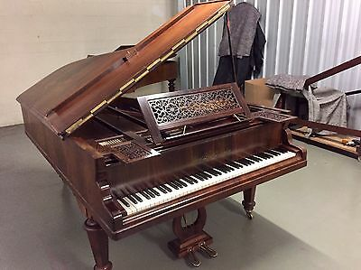 Erard London Antique Grand Piano With An Exquisite Rosewood Case C.1868