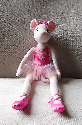 Fisher-Price Angelina Ballerina Plush Soft Toy/Doll - Used VGC