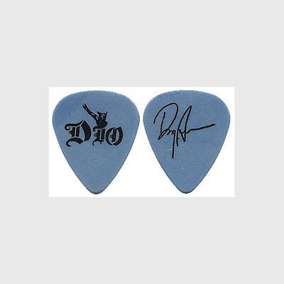 Dio Doug Aldrich authentic 2002 tour Guitar Pick