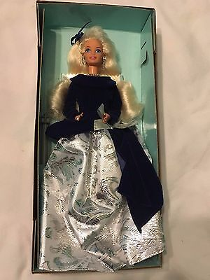 An Avon Exclusive Winter Velvet Barbie Doll Special Edition First in Series 1995