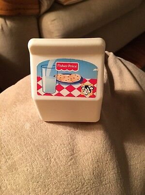 Retired *Fisher Price*Little Mommy Baby Doll Replacement Milk Carton Food