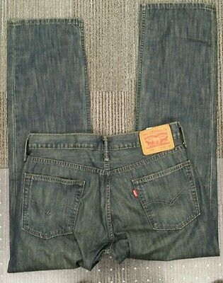 NEW LEVI'S STRAUSS 514 MEN'S boot cut JEANS size 32x30