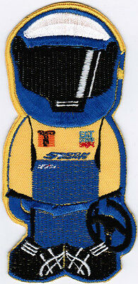 Spoon Sports Nissin Type One Eat Sleep Shift Motor Car Racing Driver Badge Patch
