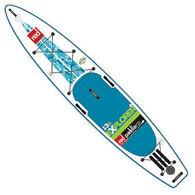 "Red Paddle Co Explorer 13'2"" MSL Inflatable SUP Board"
