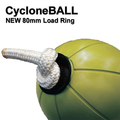Cyclone Medicine Ball Workout Fitness Exercise Rope Strength Power Core Abs 4kg