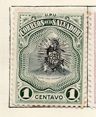 El Salvador 1906 Early Issue Fine Mint Hinged 1c. 120989