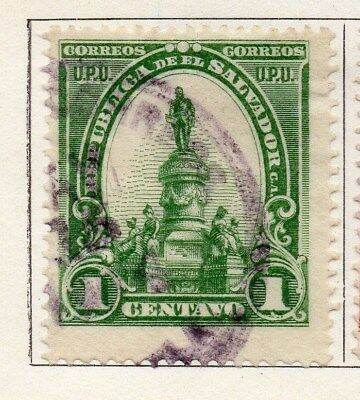 El Salvador 1903 Early Issue Fine Used 1c. 121001