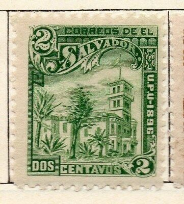 El Salvador 1897 Early Issue Fine Mint Hinged 2c. 121033