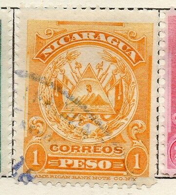 Nicaragua 1909 Early Issue Fine Used 1P. 121297