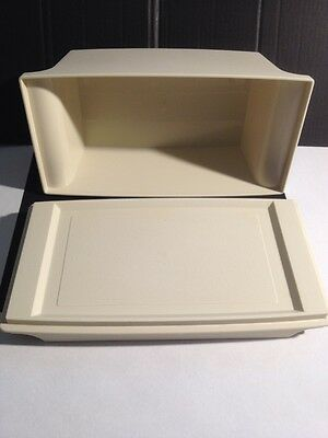 Tupperware Butter Dish,Cheese Container,Storage-Retro,Vintage.