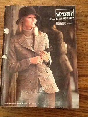 Vintage Montgomery Ward Fall and Winter Catalog 1977