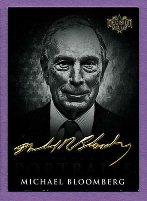 Decision 2016 Candidate Portraits B&W SP Variation - Michael Bloomberg #CP13
