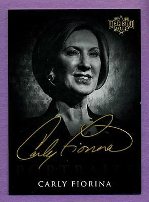 Decision 2016 Candidate Portraits B&W Variation - Carly Fiorina #CP5