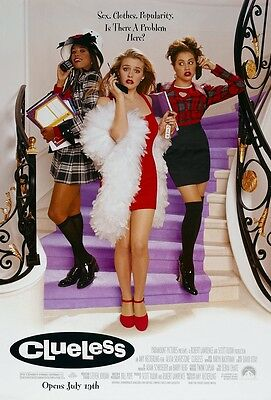 Clueless movie poster Alicia Silverstone poster, Brittany Murphy poster