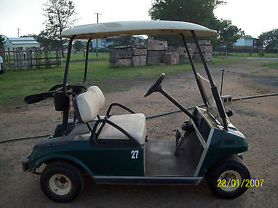 2002 Club Car Golf Buggy Cart 48v electric with Charger.