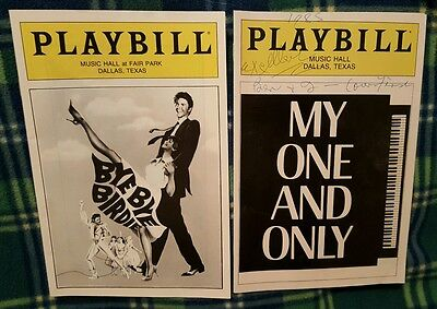 Tommy Tune Sandy Duncan 3 Playbills